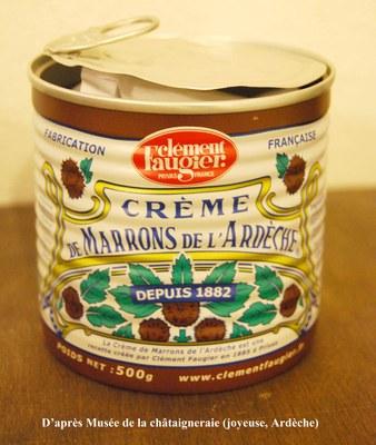 Boite creme de marron d partement de biologie - Cuire des marrons en conserve ...