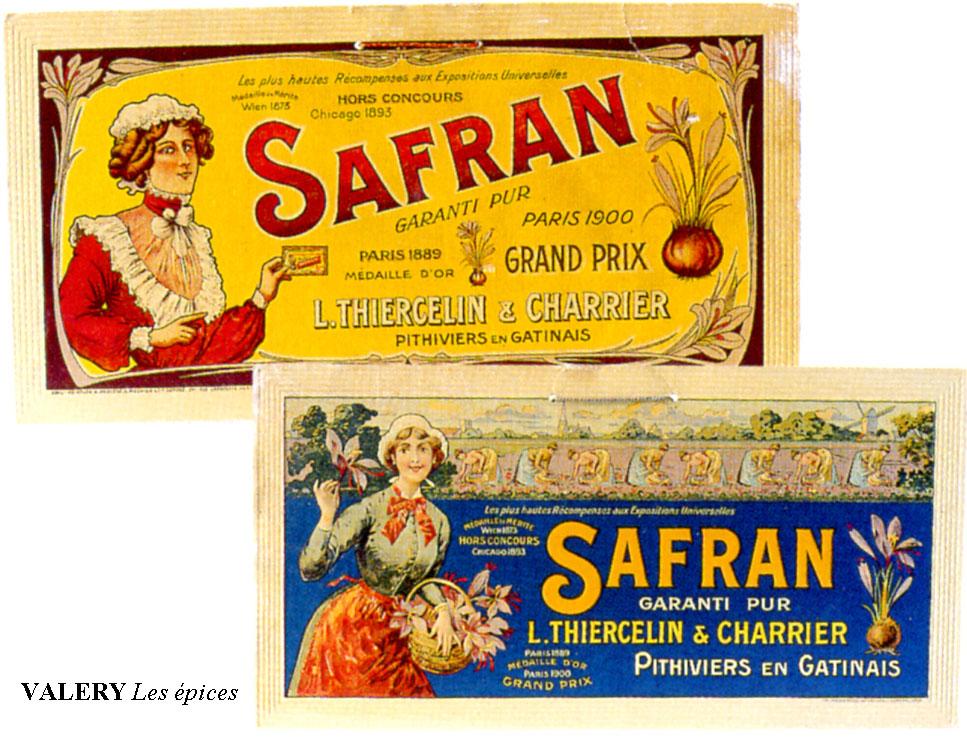 Anciennes-etiquettes-safran